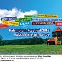 Fatemplom Fesztivál 2013 – Részletes program