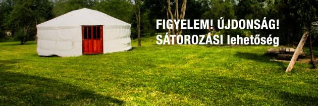 Sátorozás Magyarföldön: megnyílt a Tulipánfa-udvar