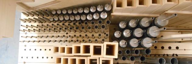 Így készült a faorgona